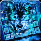 Lightning Wolf Tema de teclado icon