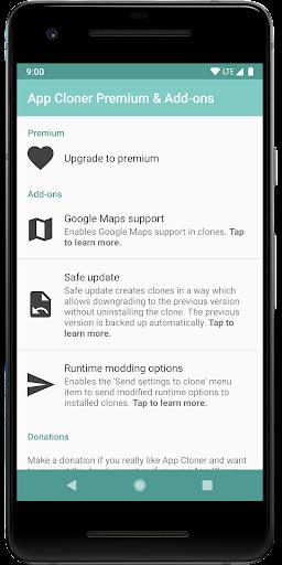 App Cloner Premium & Add-ons 1.0.9 screenshots 1