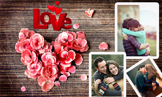 Photo Editor With Love Quotes Gorgeous Latest Romantic Photo Frames & Love Quotes Editor  Android Apps