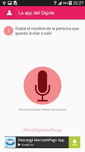 La app del Gigolo screenshot 0