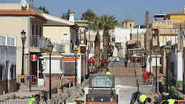 Las obras en el barrio del Calvario ya se han iniciado.