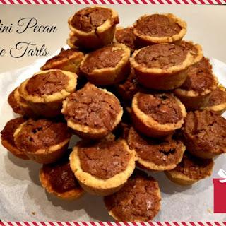 Mini Pecan Pie Tarts.