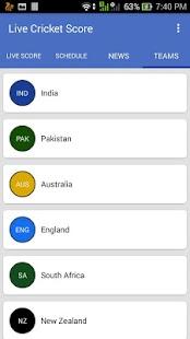Live Cricket Score - Live Crick Line 2017 - náhled