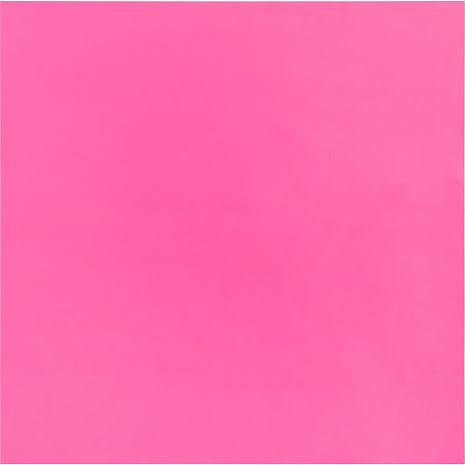 Bazzill Plastic Embossing Sheet 12X12 - Pink Kiss UTGÅENDE