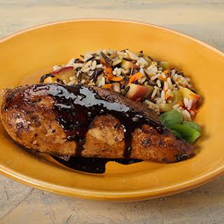 Quick Pan-Glazed Chicken.