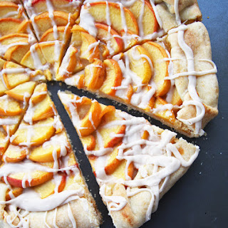 Peaches and Cream Galette
