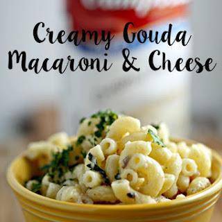 Creamy Gouda Macaroni & Cheese.