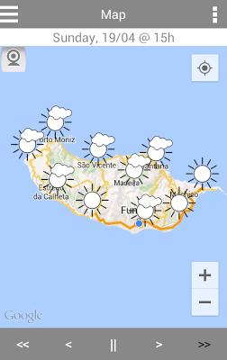 MadeiraWeather - screenshot