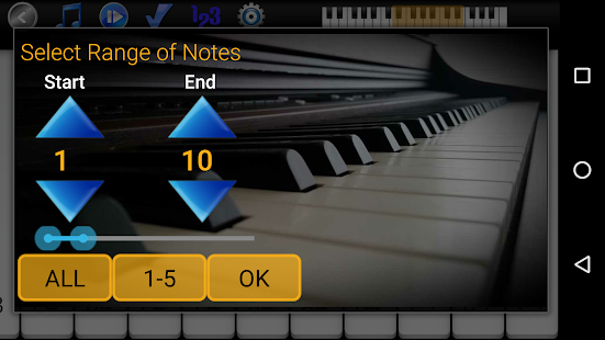 Piano Melody Screenshot