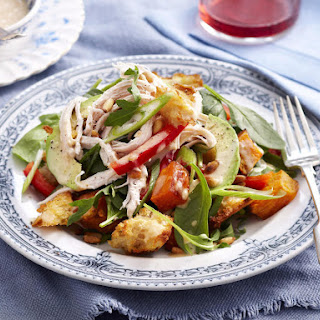 Chicken, Sweet Potato and Pine Nut Salad