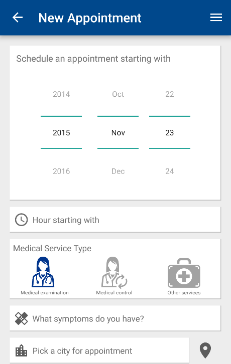 Signal Care Assistant- screenshot