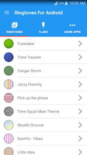 Vyzváněcí Melodie pro Android™ - náhled