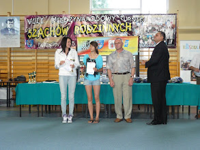 Photo: Złoty medal uzyskała Roksana Jacek