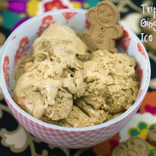 Triple Gingerbread Ice Cream.