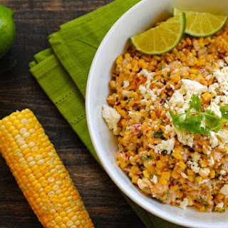 Roasted Mexican Street Corn Salad