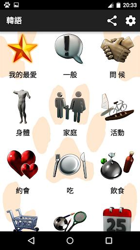 朝鲜的:單字+讀音,短語