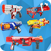 Toy Guns Nerf Game