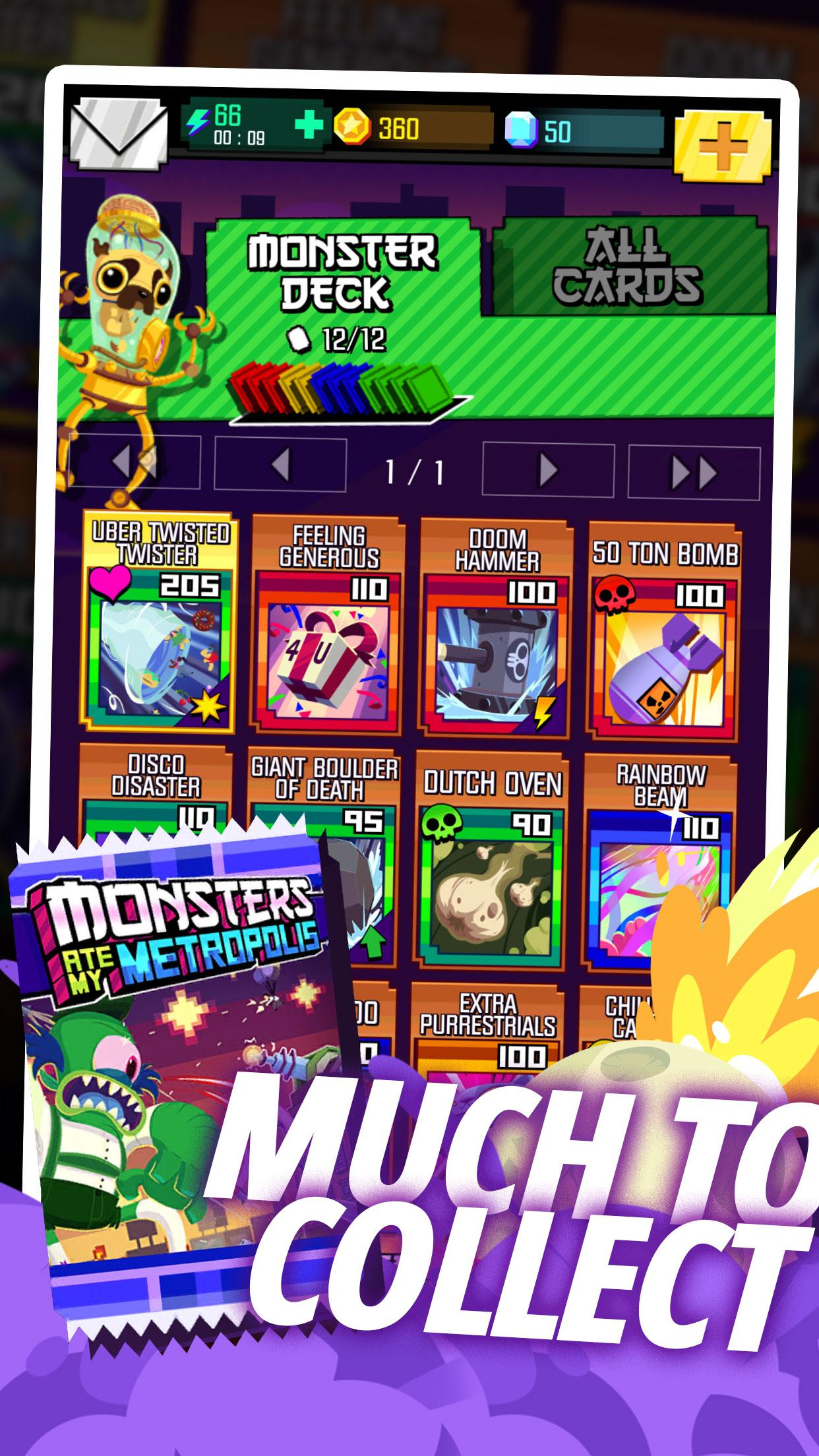 Monsters Ate My Metropolis screenshot #5