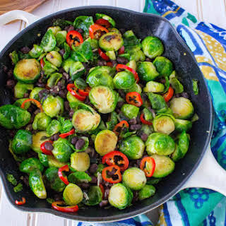 Black Bean Garlic Brussels Sprouts Recipes.