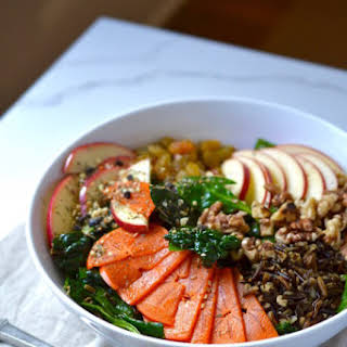 Persimmon and Wild Rice Salad.