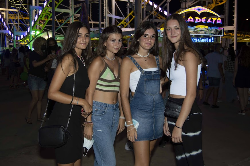 Cristina. Alejandra, Paula y Lucía