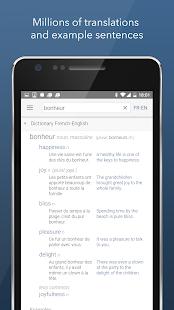 Dictionary Linguee Screenshot