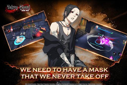 Tokyo Ghoul: Dark War fond d'écran 1