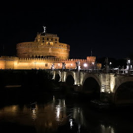 Castel S.Angelo - Roma by Antonello Madau - Instagram & Mobile iPhone