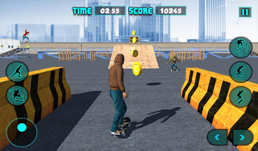 Skateboard Stunt Game 2017 app (apk) free download for Android/PC/Windows screenshot