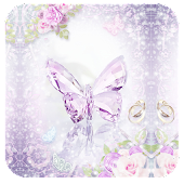 Butterfly 91Launcher Pro Theme