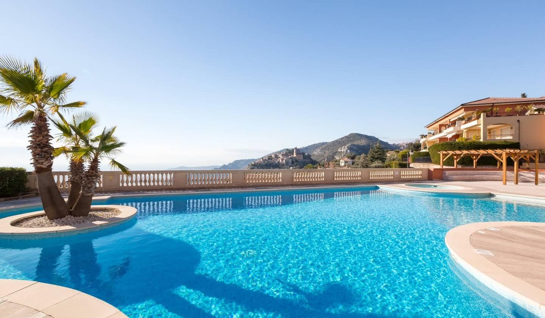 Appartement avec terrasse et piscine Eze