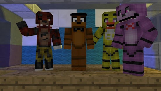 Five nights as freddy for Minecraft Mod - náhled