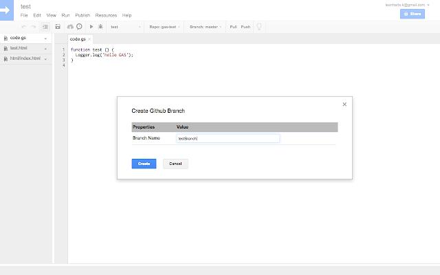 Google Apps Script GitHub Assistant - Cửa hàng Chrome trực tuyến