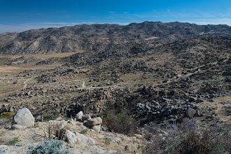 Photo: Climbing out of Anza Borrego SP