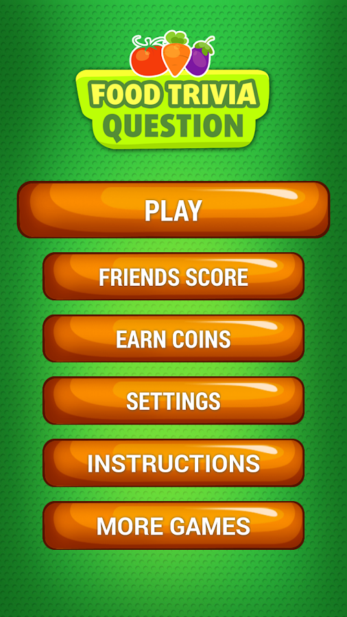 Food fun trivia questions quiz android apps on google play for Cuisine quiz
