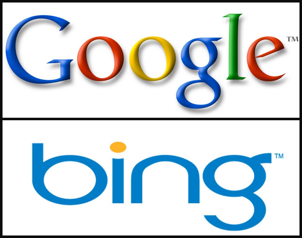 Google and Bing image