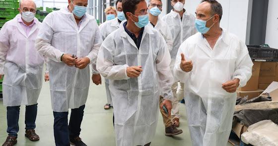 Visita a Cohorsan, para conocer la nueva variedad de calabacín
