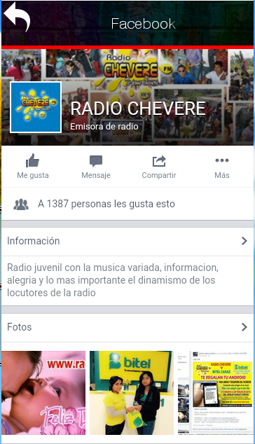 Radio Chevere- screenshot