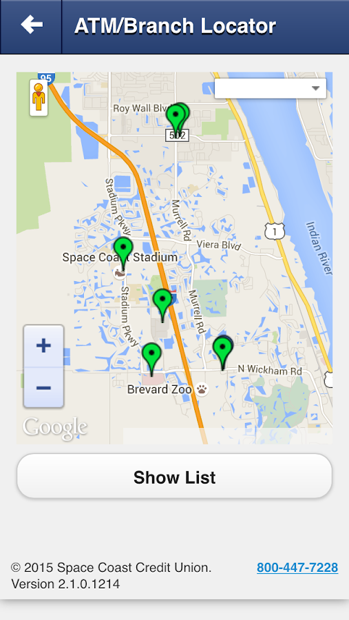 Space Coast CU Mobile- screenshot