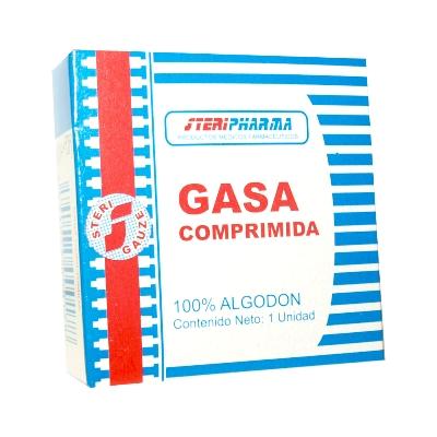 gasa steriph comprimida 1 und