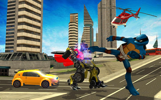 Monster Ninja Turtle Vs Captain: Robot Battle Games (apk) free download for Android/PC/Windows screenshot