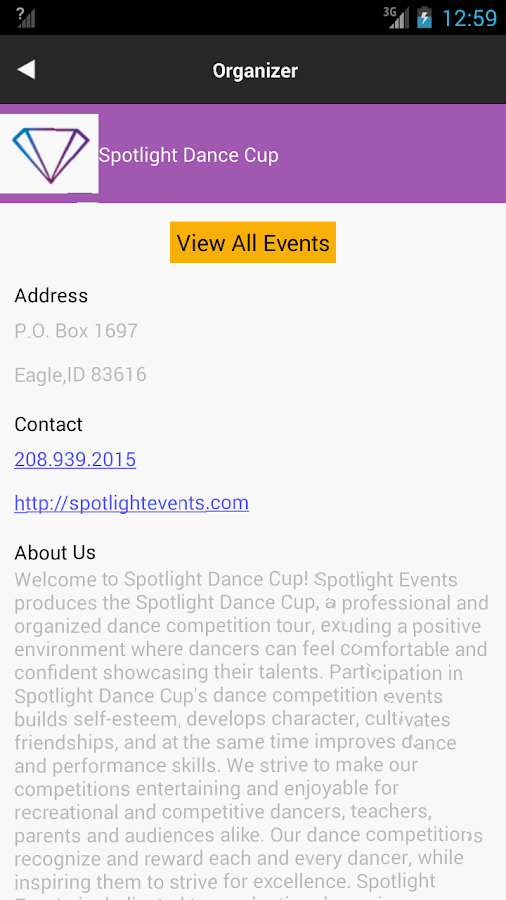 Spotlight Dance Cup- screenshot