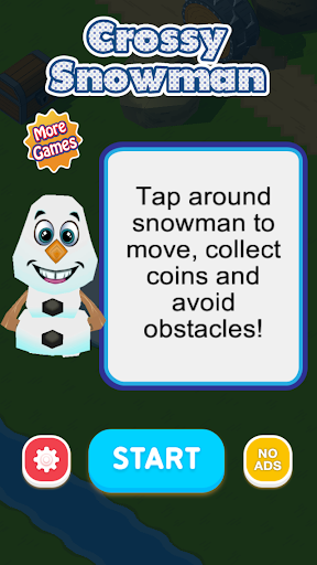 Crossy Snowman - Free game