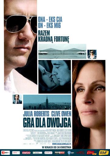 Przód ulotki filmu 'Gra Dla Dwojga'