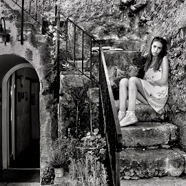 by Mario Di Martino - Black & White Portraits & People