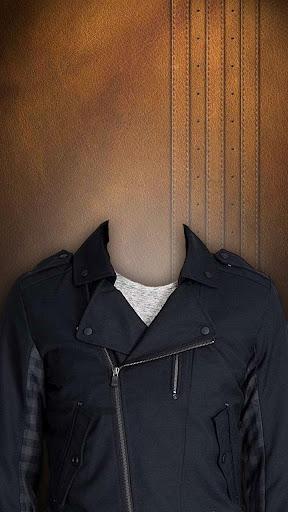 ジャケットスーツフォトモンタージュ