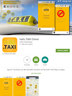 hallo.TAXI Driver- screenshot thumbnail