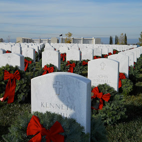 Wreaths across America by Angeline JoVan - Novices Only Objects & Still Life