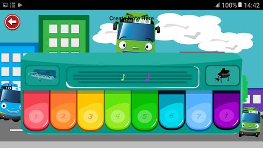 Piano For Kids Bus Tayo 1.0 screenshots 3
