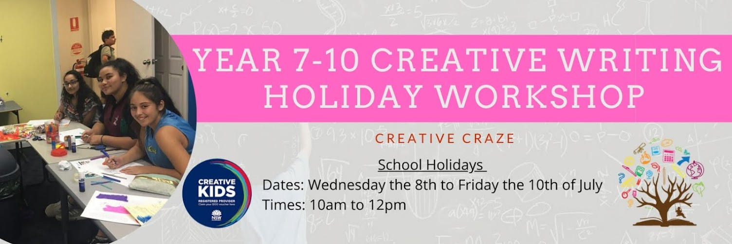Year 7-10 English - Creative Craze